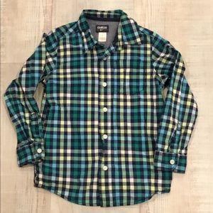 OshGosh B'Gosh button down dress shirt. 7